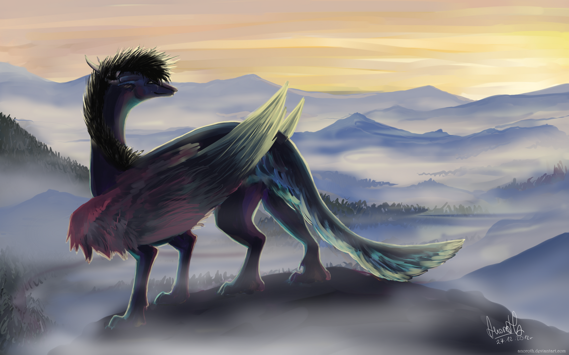 Watching the sunrise - FINISHED 8D by Anoroth