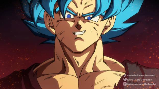 ReDraw - Goku SSJ Blue