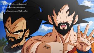 ReDraw - Goku and Vegeta (With Beard)