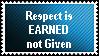 Earning Respect