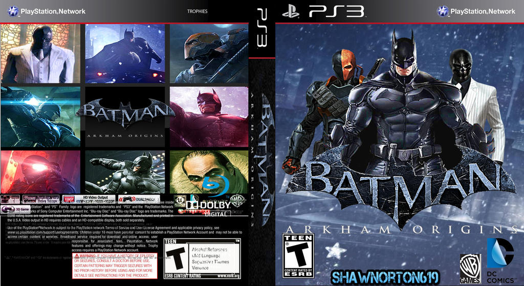Batman Arkham Origins Cover My Batman: Arkham Orig...