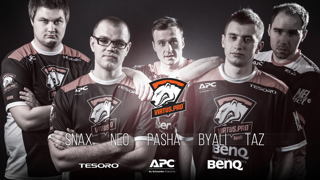Virtus.Pro Wallpaper by PodolsQai