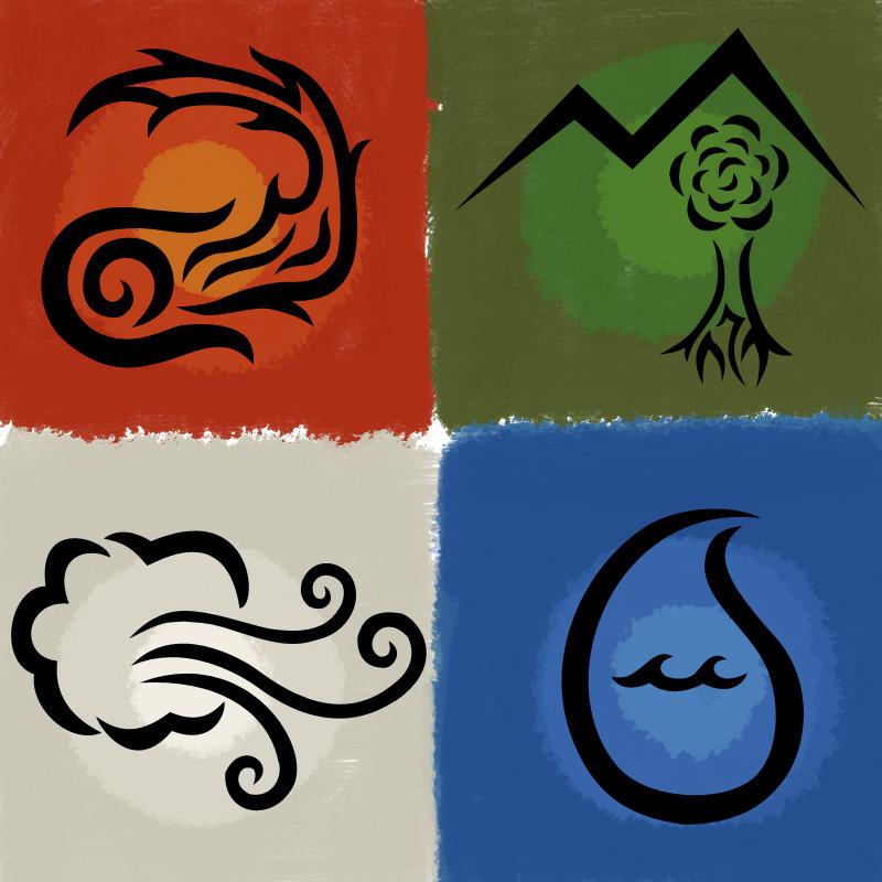 Religion & Mythology Four_Elements_by_ForgottenMoonchild
