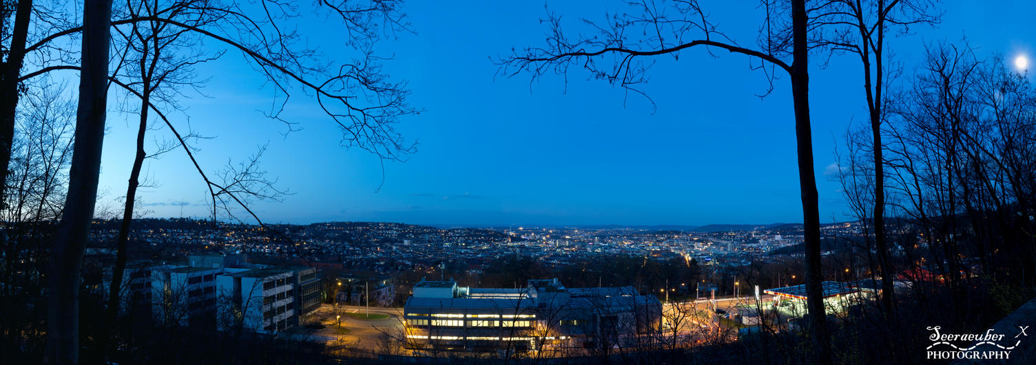Stuttgart West panorama by Seeraeuber
