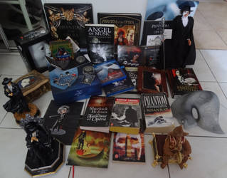 Phantom of the Opera stuff/collection by DragonKilgharrah