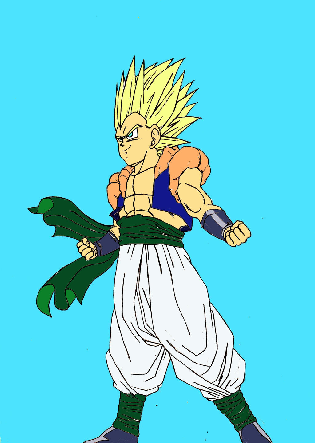224_Gotenks Super Saiyan 02 =Eduart Daka by ...