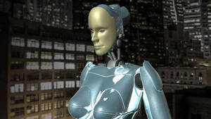 3D chik robot in New York