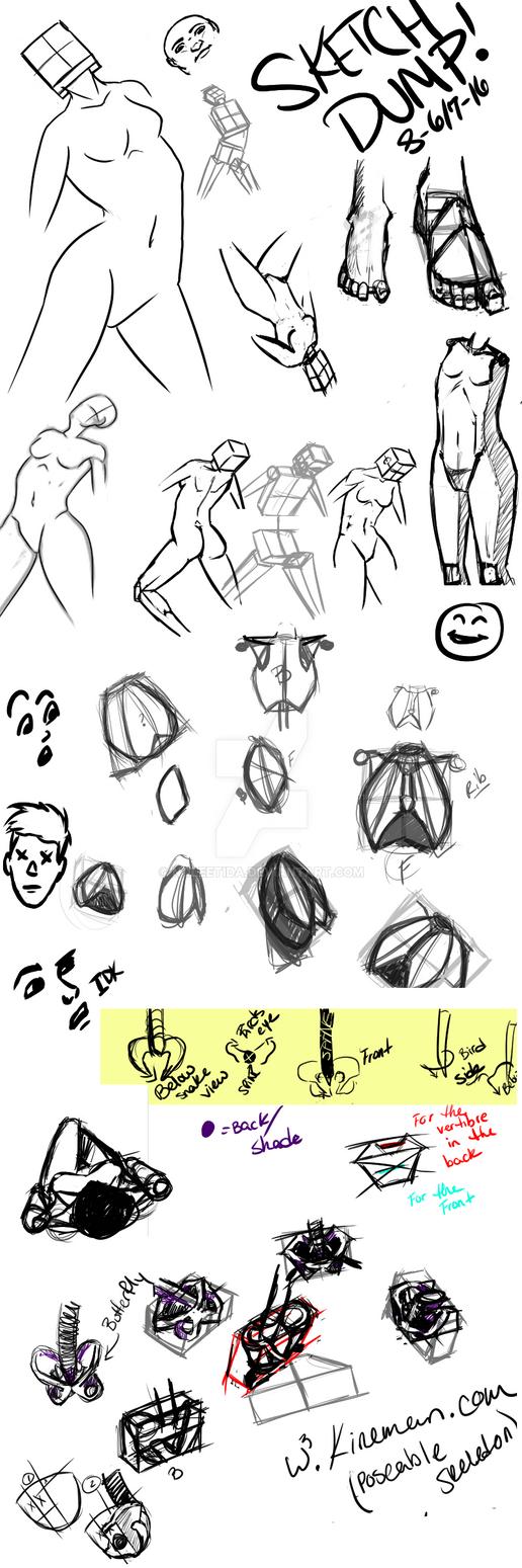 Sketch Dump by Noleetida