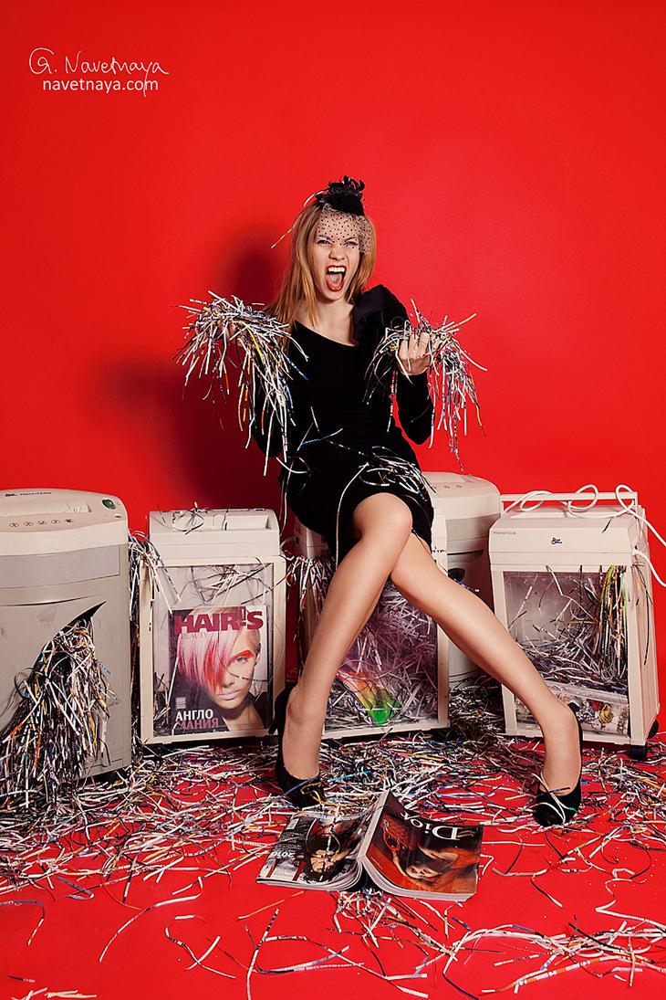 Fashion shredder by zjuzjaka