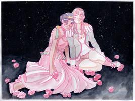 Revolution: Anthy + Utena by KoriMichele