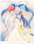 Dirty Pair Wedding: Kei + Yuri