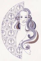 Half Moon Woman by KoriMichele