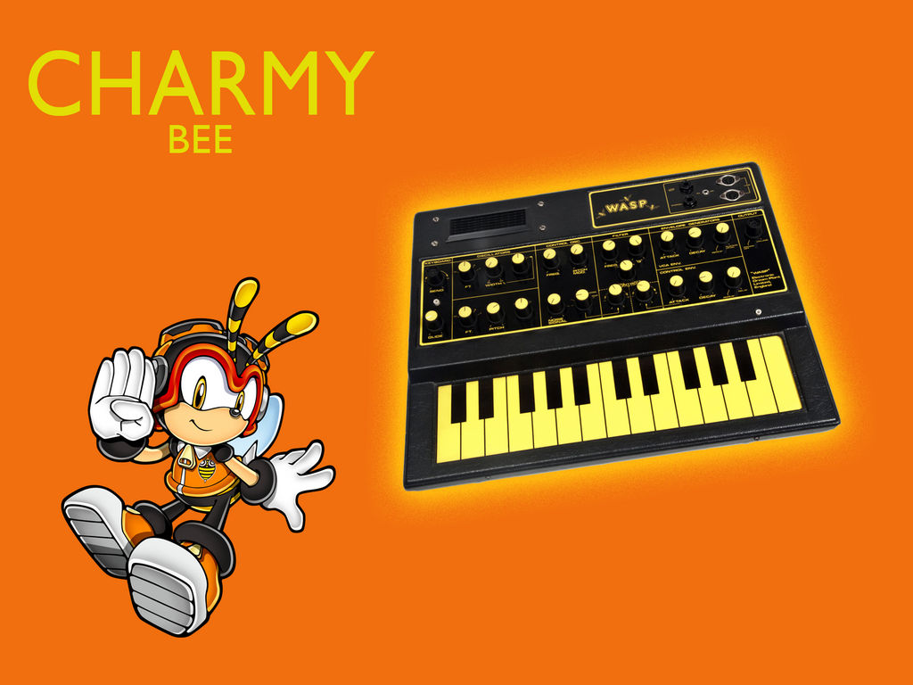 Sonic Synthesizers: Charmy by Mennomoog