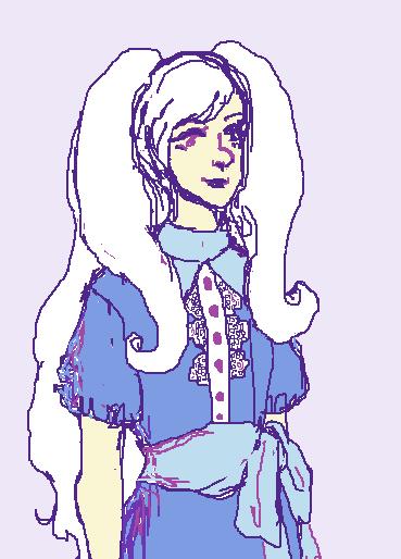 Celeste (Fuulan's OC) by HidingFreely