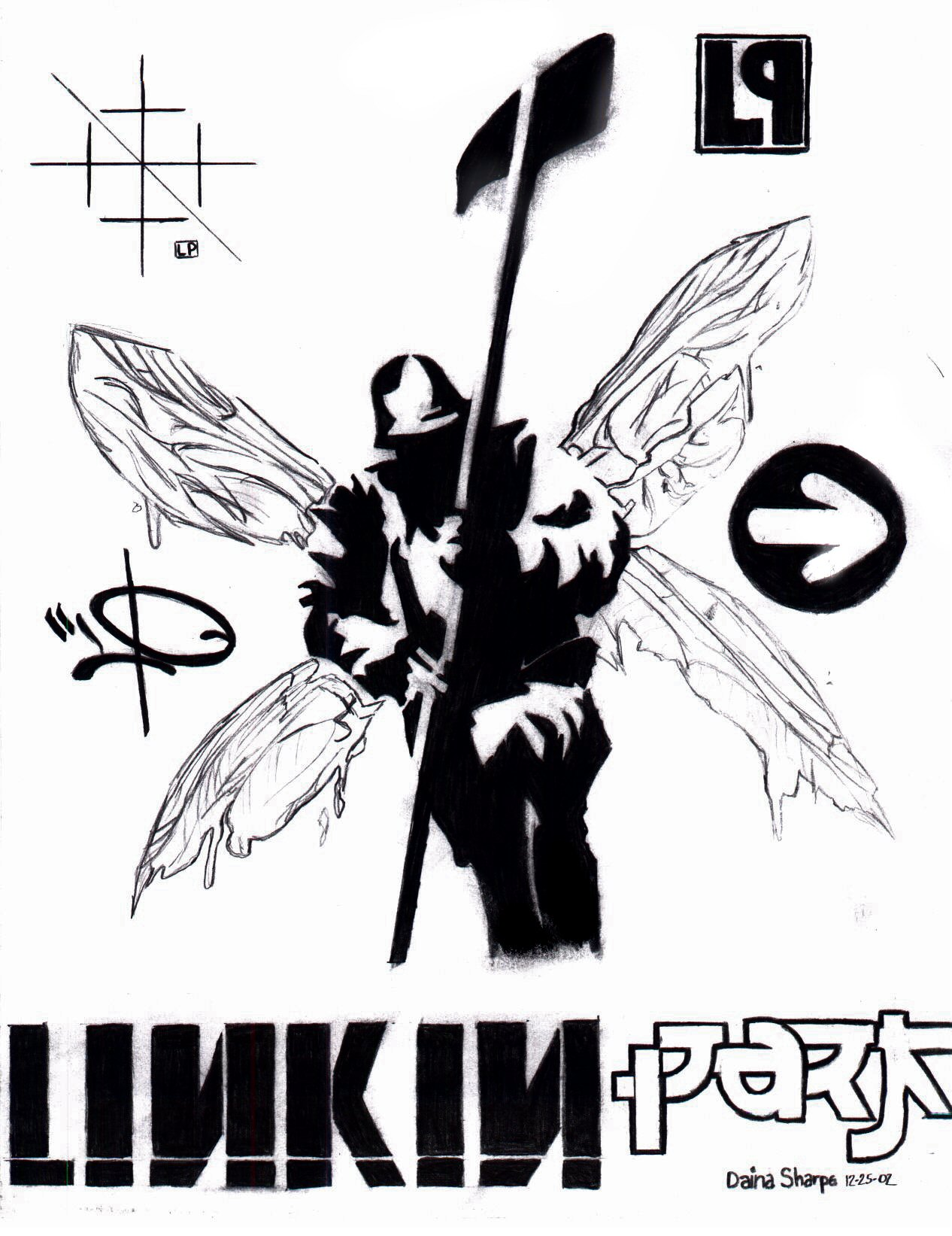 Hybrid Theory By Jadedxseasons On Deviantart