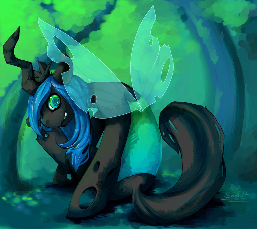 """Pics & Gifs Thread #1: Gasmask should spell my name with an """"o"""" from now on - Page 2 Queen_chrysalis_by_snofu-d4xiwqz"""