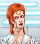 Ziggy Stardust II by DandymanKAL