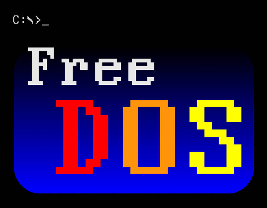 FreeDOS logo by rbuchanan