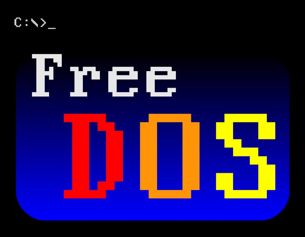 FreeDOS logo by rbuchanan