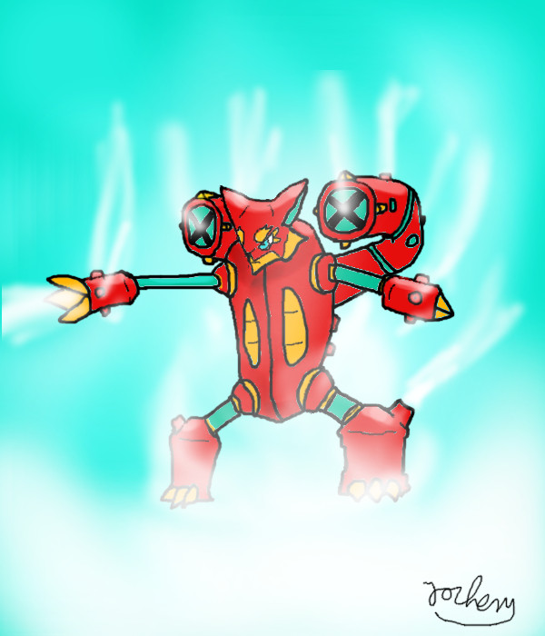 Volcanion - Alternate Form (fanmade) by jochemmasselink on DeviantArt