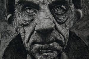Chrchcoal portrait