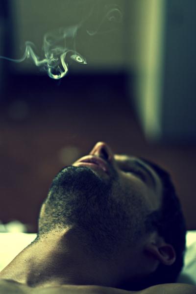 Smoking in Paris by Flote