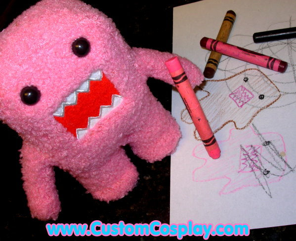 Pink Domo Kun Yearns by The-Cute-Storm