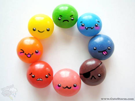 Colorful, Happy and Cute