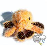 Giant Orange Octopus