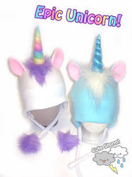 Epic Unicorn Hats by The-Cute-Storm