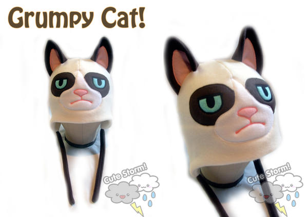 The Grumpy Cat Hat by The-Cute-Storm