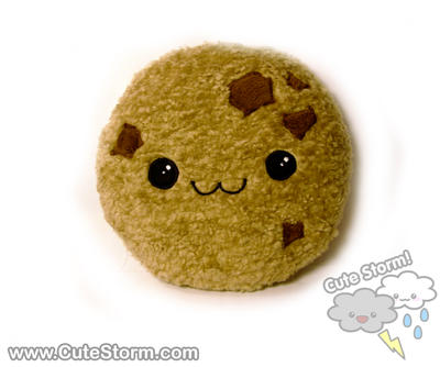 Chipper Chocolate Chunk Cookie Plushie :3