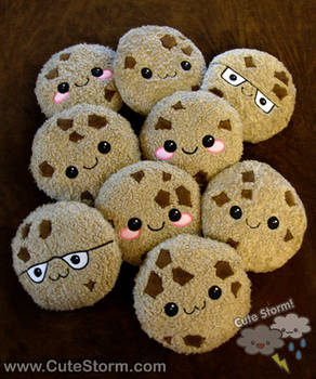 Plush Cookie Party!