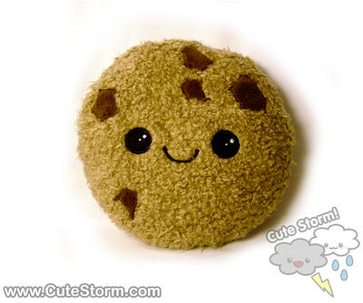 Kawaii Cookie Plushie :) by The-Cute-Storm