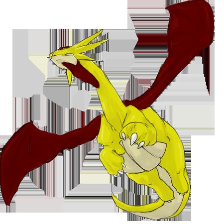 Drecht the Golden Salamence (Dragon|| Johto) Drecht_profile_ej_by_silverishness-d4kdxzj