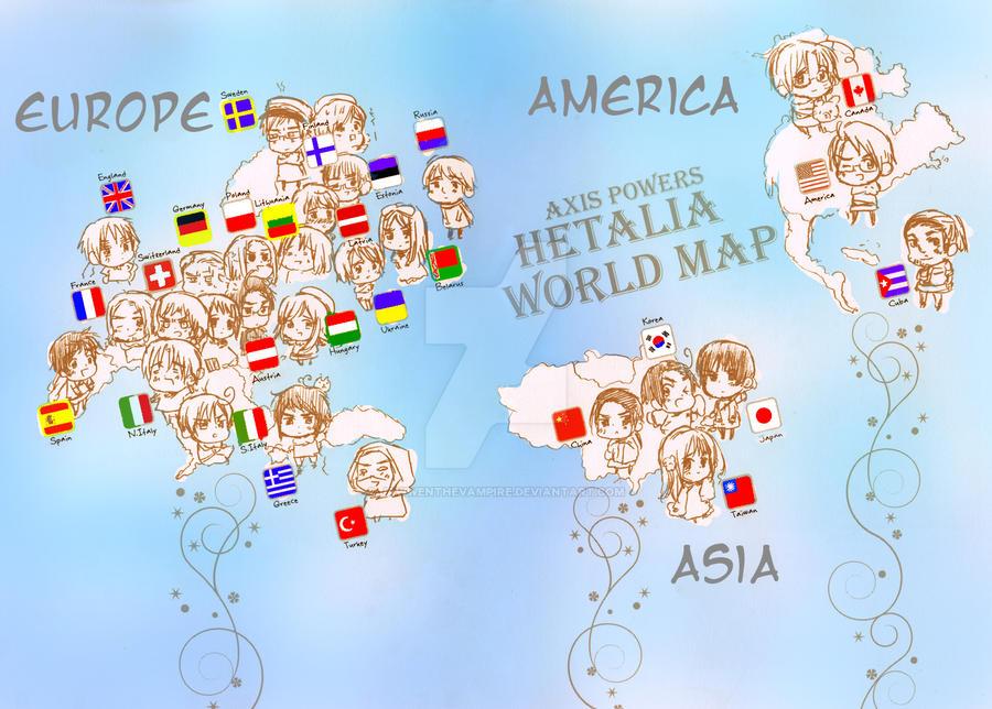 hetalia world map desktop by jawwenthevampire