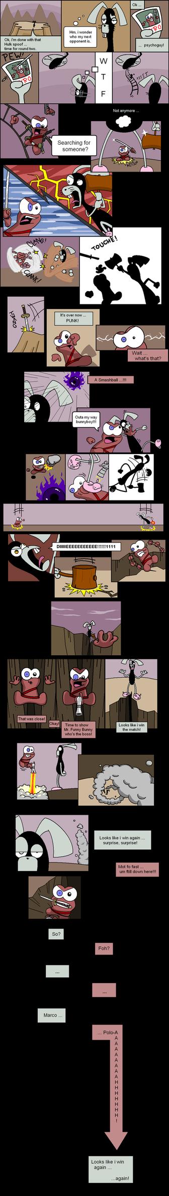 Pyro vs. Byrrit - Epic battle by Captain-Pyro