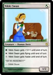 Nikki Magic-Card by Captain-Pyro