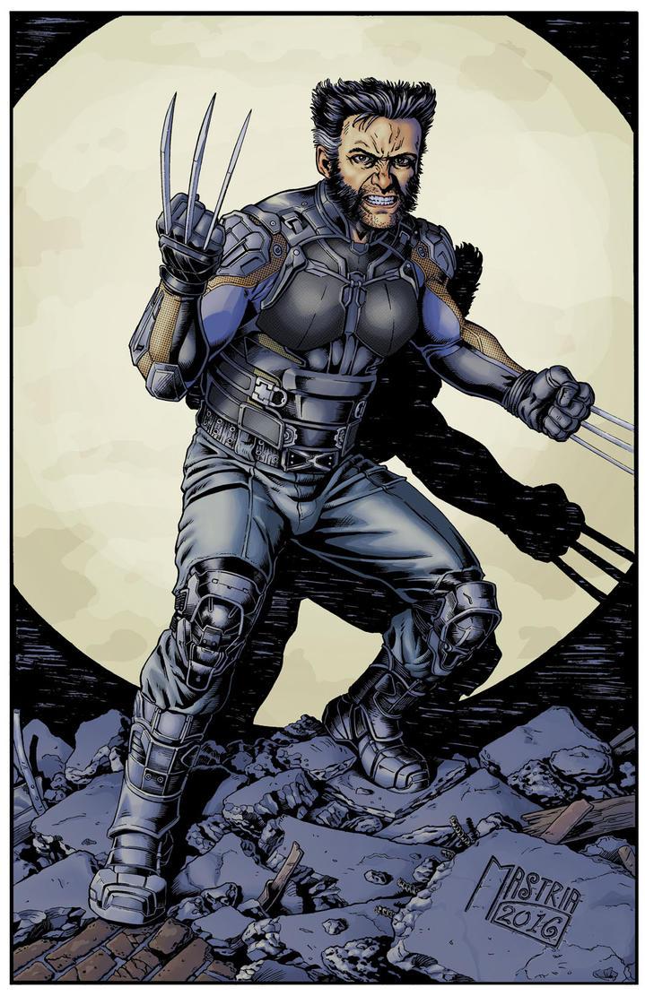 Dofp Wolverine Color by AntonioMastria