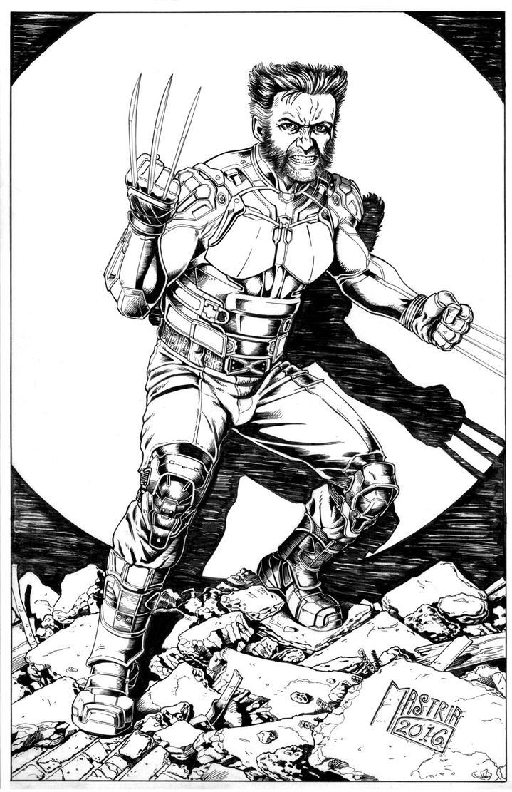 Dofp Wolverine Ink by AntonioMastria