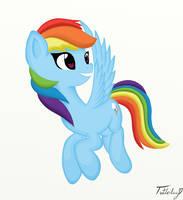 Rainbow Dash by Tuttaliny