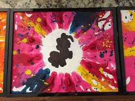 Pinkie Pie Splatter by Tuttaliny
