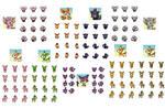 Gen 5 pokemon md sprites