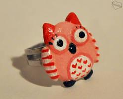 Owl ring by Kridah