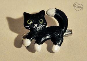 Cat pin by Kridah