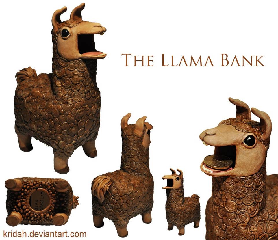 The Llama Bank by Kridah