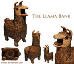 The Llama Bank by Kridah
