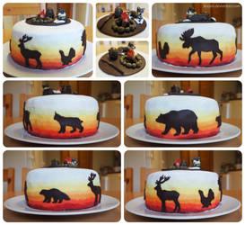 A hunter's cake