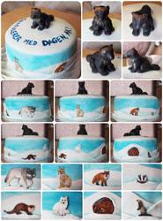 Nordic predators birthday cake