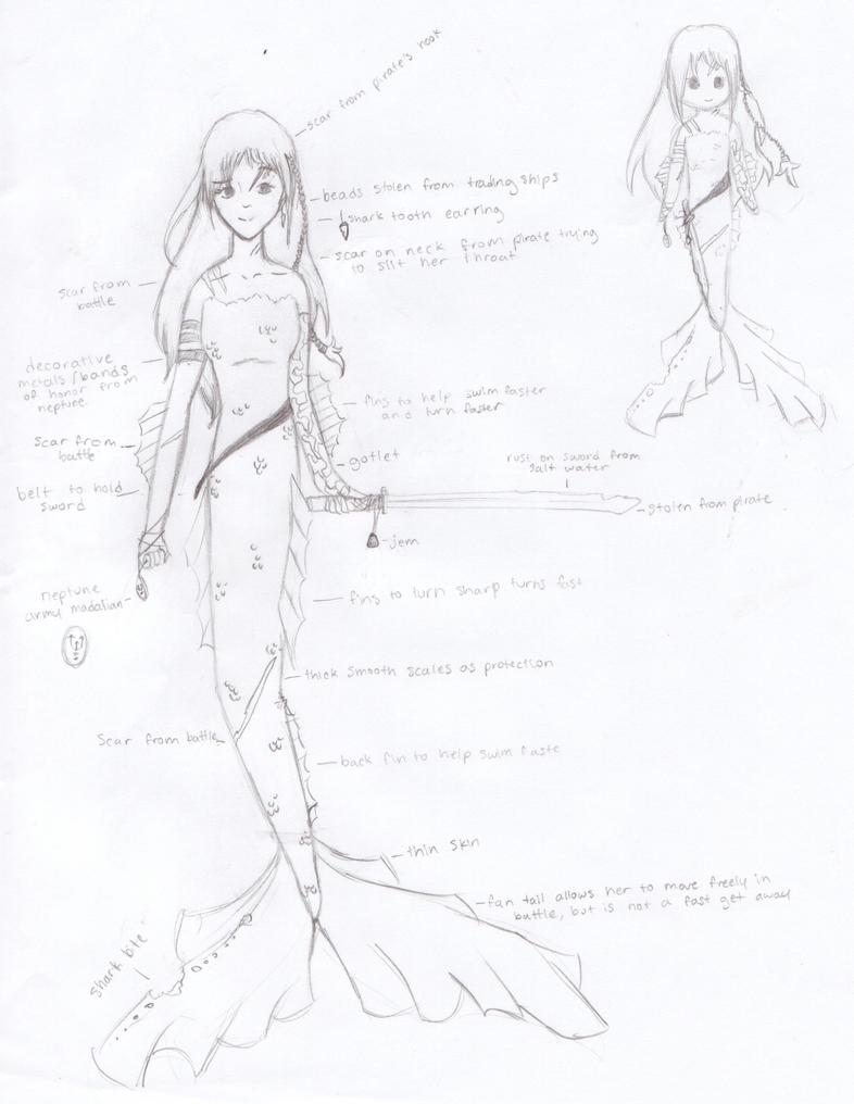 Mermaid Me WIP by KenshiTora